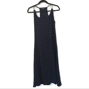 [RALPHLAUREN] Sleeveless maxi dress stripes XL